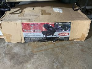"""78"""" tag along trailer tow hitch - car and motorcycle trailer for Sale in Morton Grove, IL"""