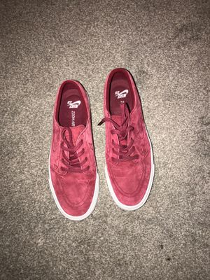 Nike SB Zoom Janoski, Suede Red, Men's Size 9 for Sale in East Wenatchee, WA