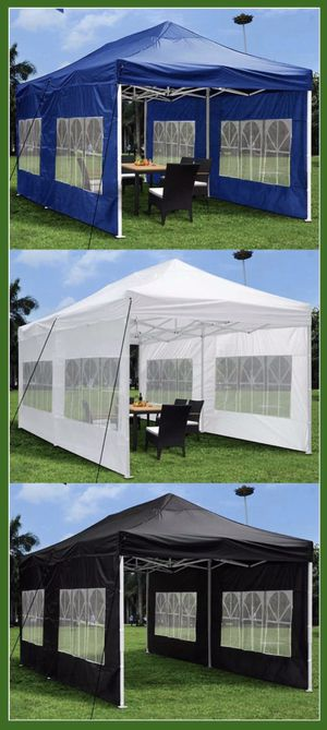 ☀️☀️☀️OUTDOOR CANOPY TENT WITH SIDE WALLS 10x20ft☀️☀️☀️ for Sale in La Verne, CA