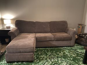 Good Condition Sectional Brown Couch for Sale in Dublin, OH