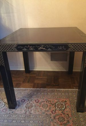 Oriental End Table for Sale in Bloomfield, NJ
