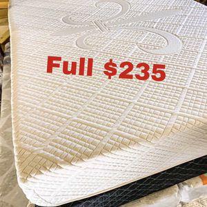 💥Brand new Blue Gel Memory Foam Mattress💥 Queen Mattress only-$260 Mattress & box spring-$320 Full Mattress only-$235 Mattress & box spring-$295 for Sale in Long Beach, CA