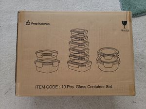 Glass Food Storage Containers with Lids for Sale in Artesia, CA