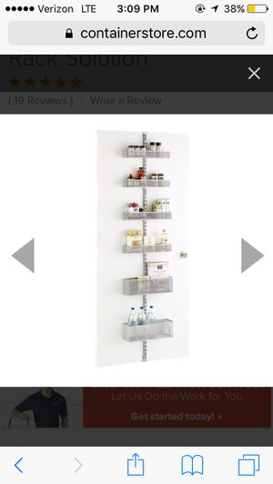 Container store over door storage for Sale in San Diego, CA