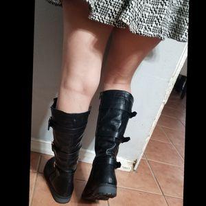 Alexa Buckle Knee High Motorcycle Boots for Sale in Ontario, CA