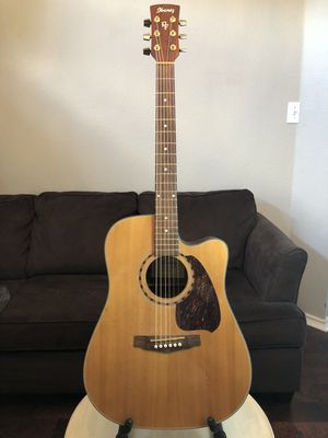 Superior tone - Ibanez PF5ECE-NT Acoustic Electric guitar- don't miss this one for Sale in Richardson, TX