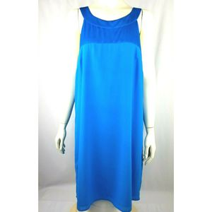 H&M Womens Turquoise Sleeveless Midi Dress Size 14 Formal Holiday Bow Back for Sale in Avondale, AZ