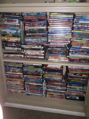 Blue Ray, DVD's, and some games in there. for Sale in San Diego, CA