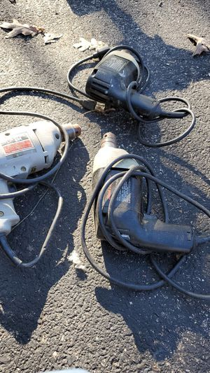 3 electric Drills for Sale in St. Charles, IL