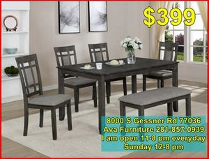 6 piece dining room table set for Sale in Houston, TX