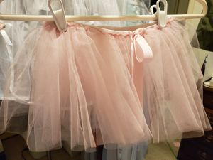 Light Pink Adjustable Waist Tutu with Bow for Sale in Lewisville, TX