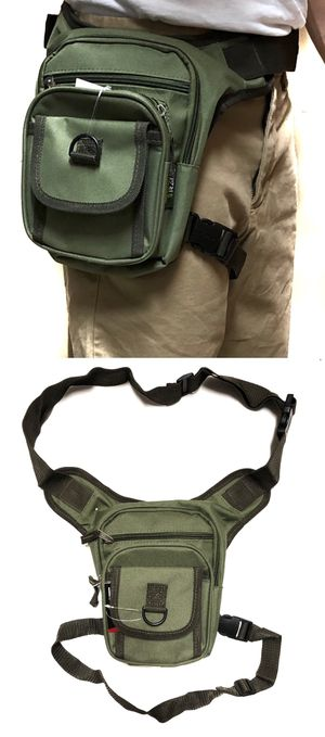 NEW! Waist Pouch Hip Holster Pouch drop leg bag Waist Bag Side Bag hiking camping motorcycle hunting biking Pouch Waist Pack Od Green for Sale in Long Beach, CA