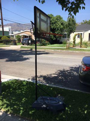 Free used basketball hoop for Sale in Burbank, CA