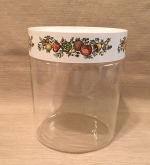 Vintage Pyrex Spice of Life See N Store glass kitchen canister storage for Sale in Phoenix, AZ