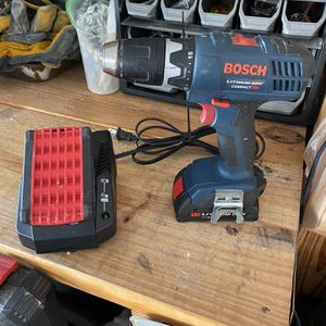 Bosch Drill With 2 Batteries and a New Charger for Sale in Apopka, FL