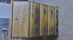 Colonial Style Wooden Desk/ Chest Drawers for Sale in Uniontown, PA