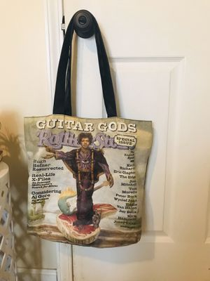 Rolling Stone Magazine • Jimi Hendrix • Tote Bag for Sale in Cave City, KY