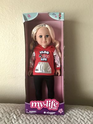 New My Life girl Doll (vlogger) for Sale in Everett, WA