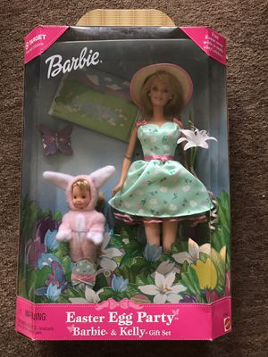 Easter egg party Barbie and Kelli gift set 1999 target special edition for Sale in Palm City, FL