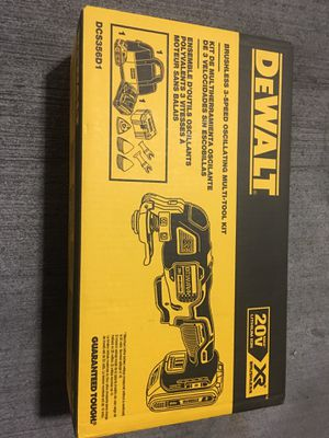 Dewalt multitool brand new with battery and charger for Sale in Silver Spring, MD