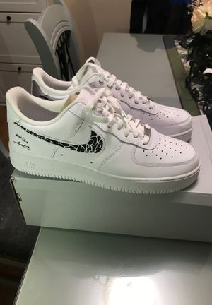 Nike Air Force 1 '07 signed by YouTuber ZHC for Sale in Los Angeles, CA