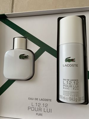 Lacoste pure man cologne set. New in box. $86 value for Sale in Anaheim, CA