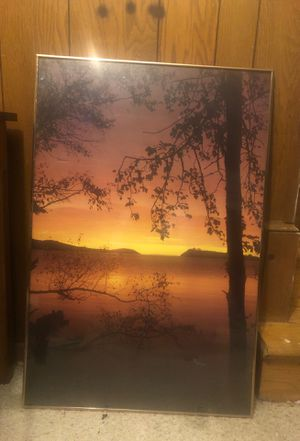 Artwork, sunset picture for Sale in Springfield, VA
