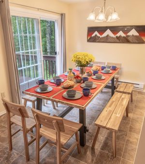 Large Wood Dining Table for Sale in Tannersville, PA