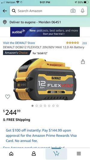 Dewalt Battery brand new 200 bucks for Sale in Meriden, CT