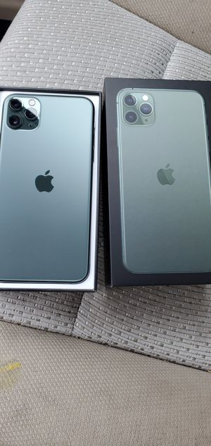Brand New Midnight Green iPhone 11 Pro Max T-mobile metro pcs telcel for Sale in Union City, CA