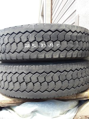 (2)* 225/70/19.5 double coin drive tires for Sale in Salt Lake City, UT