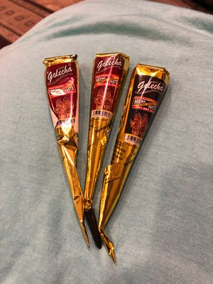 3 New Henna Cones for Sale in Puyallup, WA