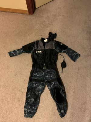 Swat costume size 3-4 for Sale in Bonney Lake, WA