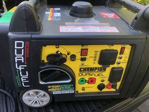 Champion dual fuel Generator for Sale in Medford, MA