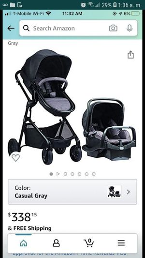 Evenflo car Seat and stroller set for Sale in Lauderdale Lakes, FL