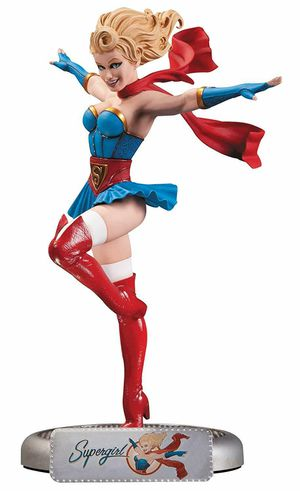 DC Collectibles Bombshells Supergirl Statue Figure Sideshow for Sale in Montebello, CA