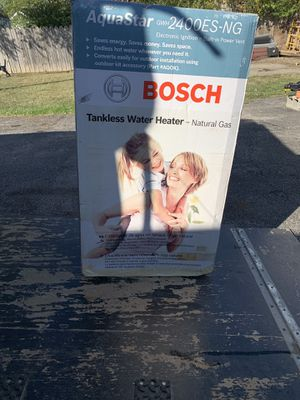 Bosch tankless water heater for Sale in Westerville, OH