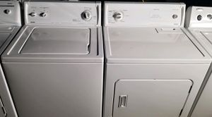 """KENMORE"" MATCHING SET HEAVY DUTY SYSTEM WASHER & GAS DRYER 3.8 cu ft for Sale in Phoenix, AZ"