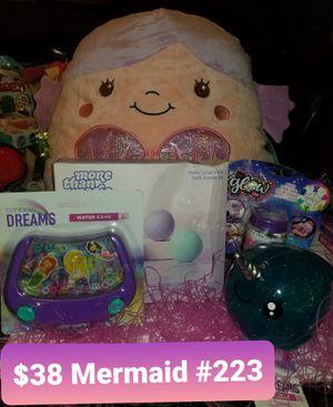 Mermaid Easter basket for Sale in Las Vegas, NV