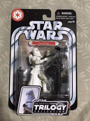 Star Wars, The Original Trilogy Collection Action Figure, Snowtrooper #25, 3.75 for Sale in Redondo Beach, CA