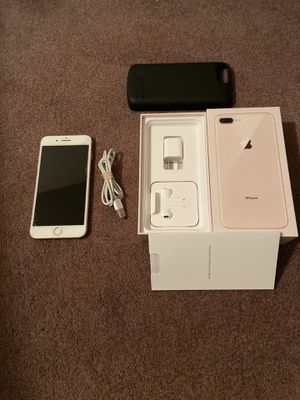 iPhone 8 Plus 64Gb With Charger Case AT&T for Sale in Wichita, KS