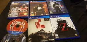 PS4 games all great condition....low price for Sale in Los Angeles, CA
