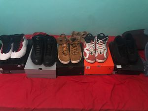 Jordan Retro 6,13,10 and 14s size 10-10 1/2 for Sale in Orlando, FL