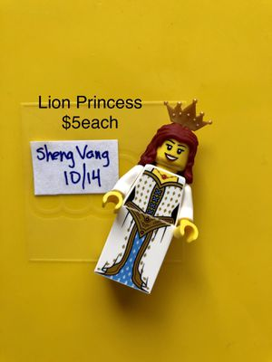 Lion Princess Lego for Sale in Sacramento, CA