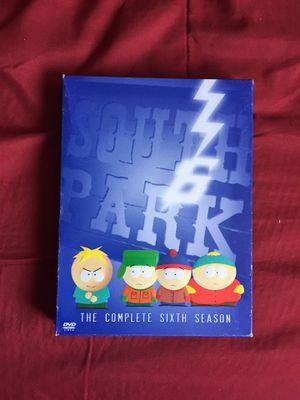 South Park Full Sixth Season for Sale in San Diego, CA