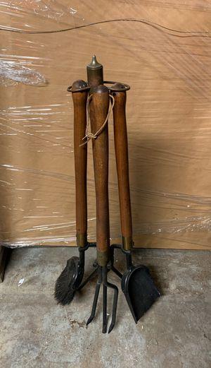 Vintage fireplace tools for Sale in San Bernardino, CA