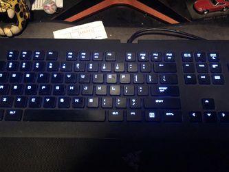 Razer Deathstalker Gaming Keyboard for Sale in Mount Baldy,  CA