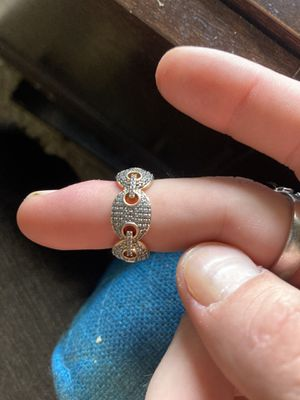 Ring and 14k Figaro Chain for Sale in Dallas, TX