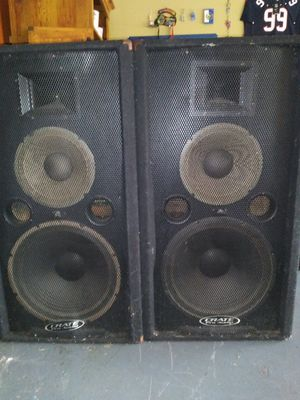 Dj speaker. Cráter. Pro audio. Pasivas 15 for Sale in Houston, TX