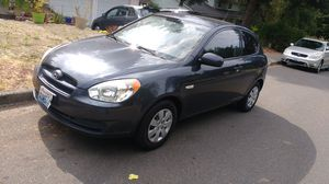 Hyundai accent 2010 1.6 manual , need a new engine or parts removal for Sale in Kirkland, WA